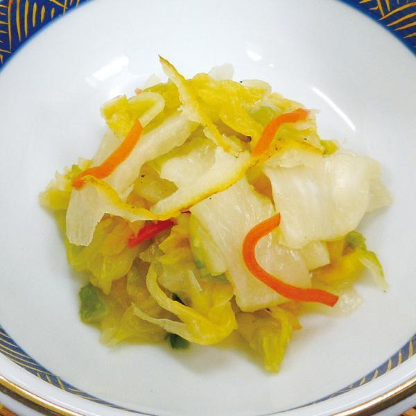 冷凍食品 業務用 ゆず白菜漬 300g (固形300g) 22330 弁当 国産 はくさい 漬 柚子 割烹