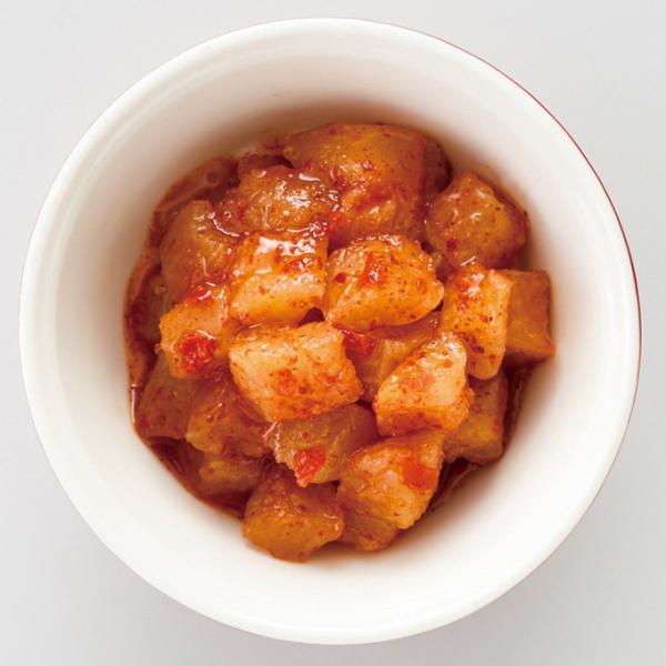 冷凍食品 業務用 大根のキムチ (カクテキ) 500g 22428  漬物 チャーハン 炒め物 鍋 韓国