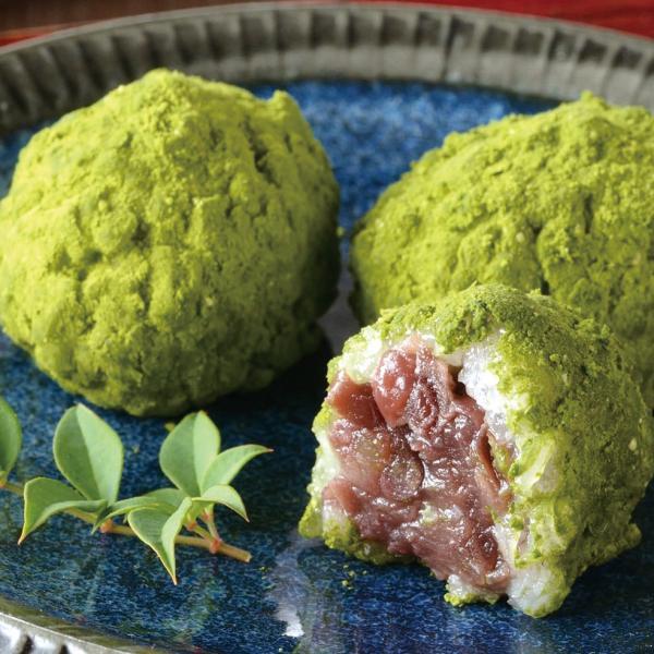 冷凍食品 業務用 抹茶おはぎ 400g(20個入) 22671 宇治抹茶 北海道産 もち米 あんこ 甘味 和菓子