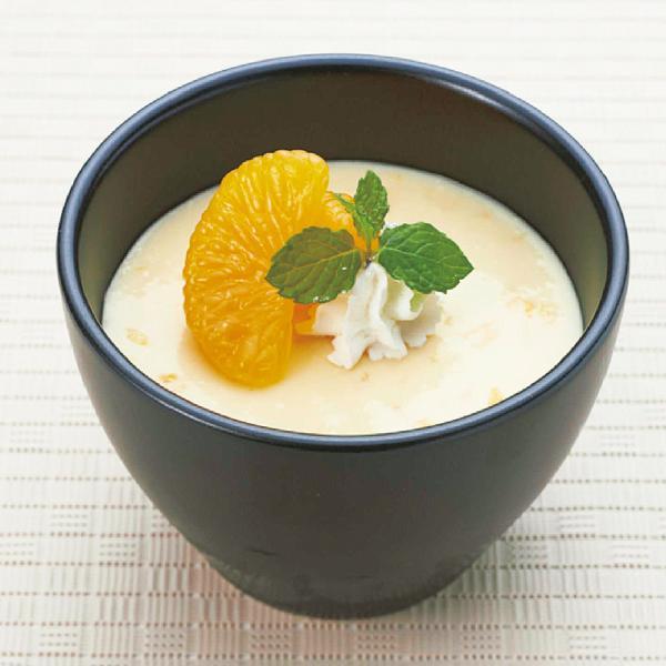 冷凍食品 業務用 温州みかんプリン 1kg 23278 販売期間9月-2月  秋のスィーツ:洋風デザート
