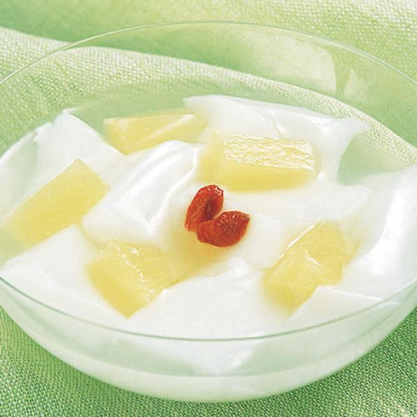 冷凍食品 業務用 あわせるデザート (杏仁豆腐) 500g (約36〜44個入) 36113 カット済 あんにんどうふ デザート トッピング 業務用 冷凍 中華 デザート