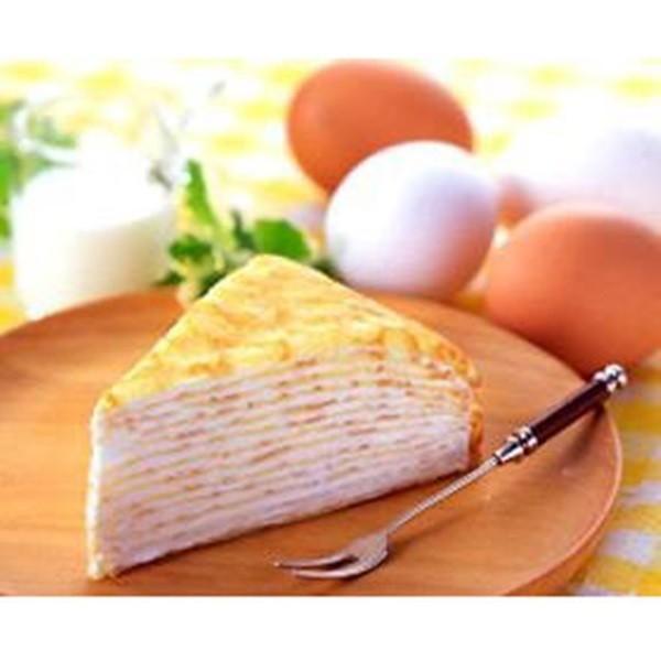 冷凍食品 業務用 北海道ミルクレープ (バニラ) 約80g×4個入 36666 人気商品 冷凍 洋菓子 ケーキ スイーツ