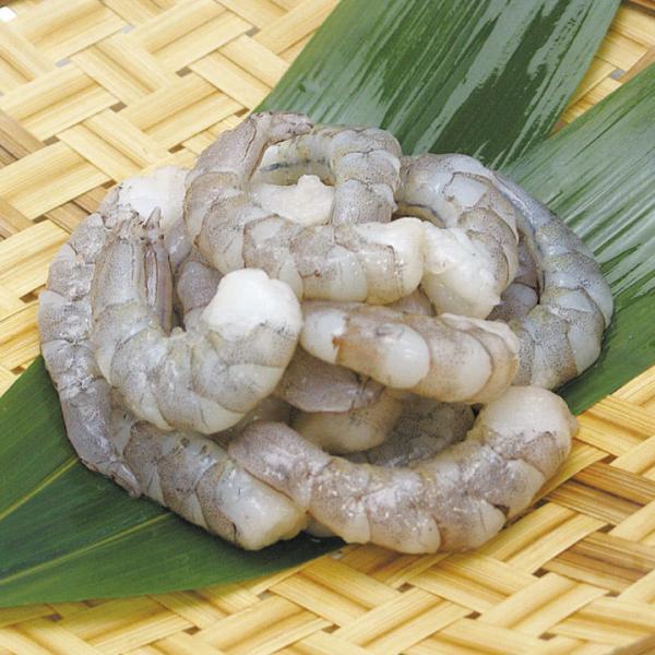 冷凍食品 業務用 むき海老 銀のバナメイ 1kg (NET1000g) 51/60 3850 弁当 IQF バラ凍結 えび むきえび