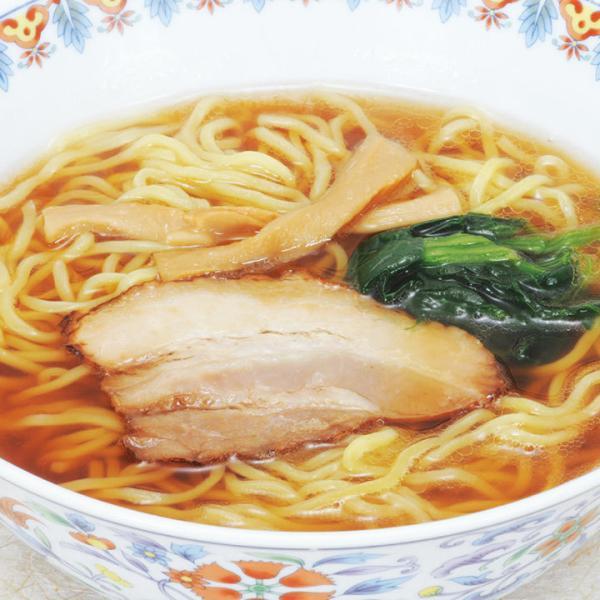 冷凍食品 業務用 具付麺 醤油ラーメンセット 1食 236g (麺180g) 5402 弁当 具材付 昔ながら 業務用 レンジ