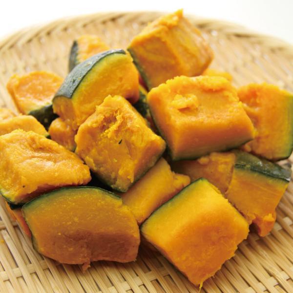 冷凍食品 業務用 南瓜 乱切り 1kg 605530 弁当 かぼちゃ カボチャ カット野菜 冷凍野菜 時短