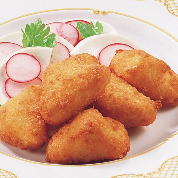 冷凍食品 業務用 チーズフライ 750g (50個入) 8179 弁当 ワッフルポテト ちーず かまんべーる