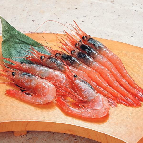 冷凍食品 業務用 甘エビ (ブロック) 1kg (約110〜120尾入) M 8858 弁当 お刺身 寿司ネタ エビ 海老 有頭 甘エビ 刺身 寿司