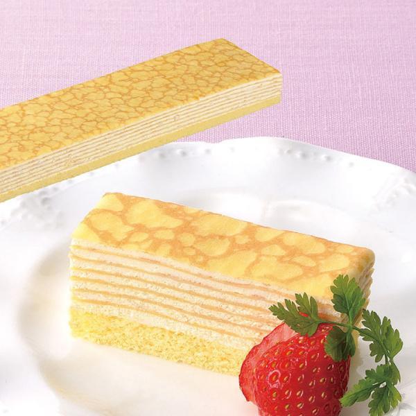 冷凍食品 業務用 フリーカットケーキ ミルクレープ480g (カットなし) 9325 バイキング パーティー 冷凍 洋菓子 ケーキ