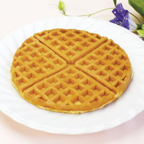 冷凍食品 業務用 ソフトアメリカンワッフル240g (3枚入) 9387 人気商品 冷凍 洋菓子 デザート