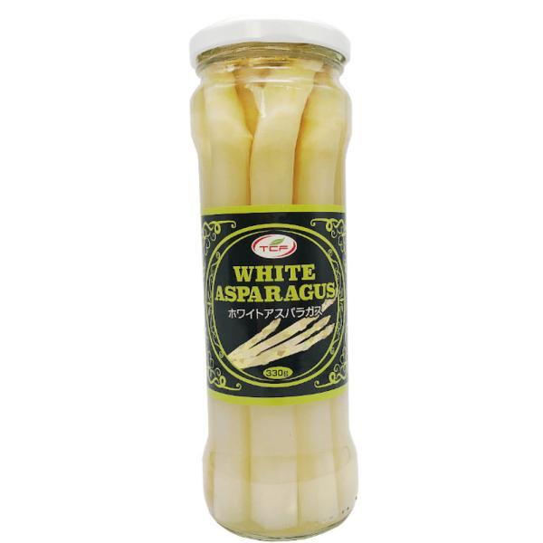 業務用 ホワイトアスパラ 330g(固形205g) 良質 ホワイトアスパラガス 水煮