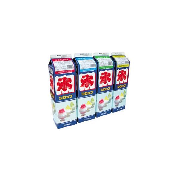 グルメ 常温食品 業務用 かき氷シロップ グレープ 1.8L紙パック 87472 販売期間4月末〜8月  葡萄 カキ氷 トッピング