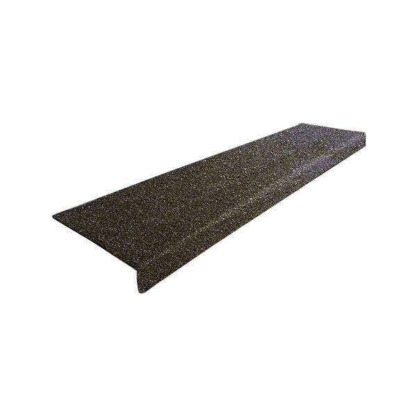 送料無料 SAFEGUARD 階段用滑り止めカバー 幅914x225x25mm 黒 コンクリート設置用ネジ付属 12092-C