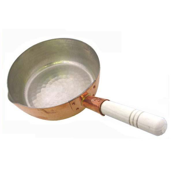 送料無料 中村銅器製作所 銅製 行平鍋 21cm