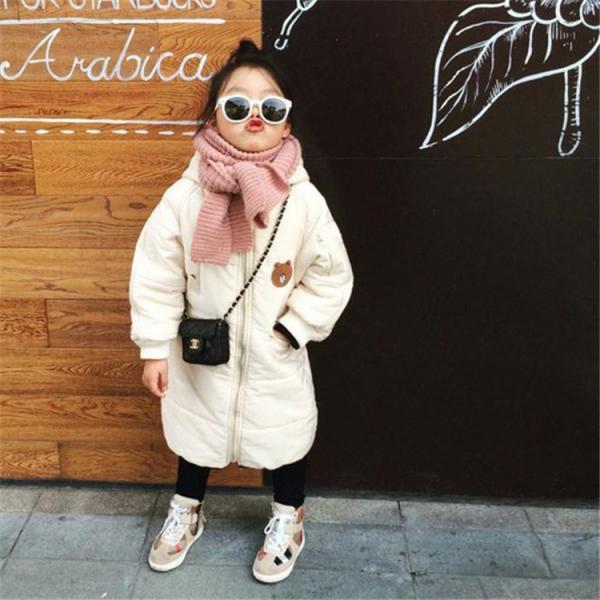519e86164814b ... ベビー服 子供服 ダウンコート 赤ちゃん コート 中綿ジャケット 防寒 保温 アウターウエア 女の子 男の子 フード ...