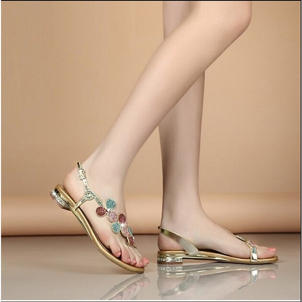 サンダル レディース  美足 キラキラ ダイヤモンド 靴 シューズ 痛くない 大人可愛い  結婚式 二次会お呼ばれ  2色|syouya-store|04