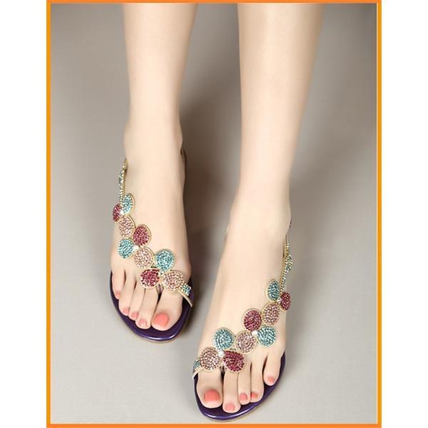 サンダル レディース  美足 キラキラ ダイヤモンド 靴 シューズ 痛くない 大人可愛い  結婚式 二次会お呼ばれ  2色|syouya-store|06