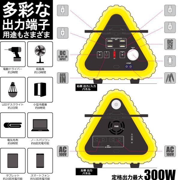 ポータブル電源 MIGHTY 大容量 車中泊 非常用電源 552Wh/153600mAh FMラジオ Bluetooth IP66 LEDライト 蓄電池 パナソニックリチウム電池|syride|08
