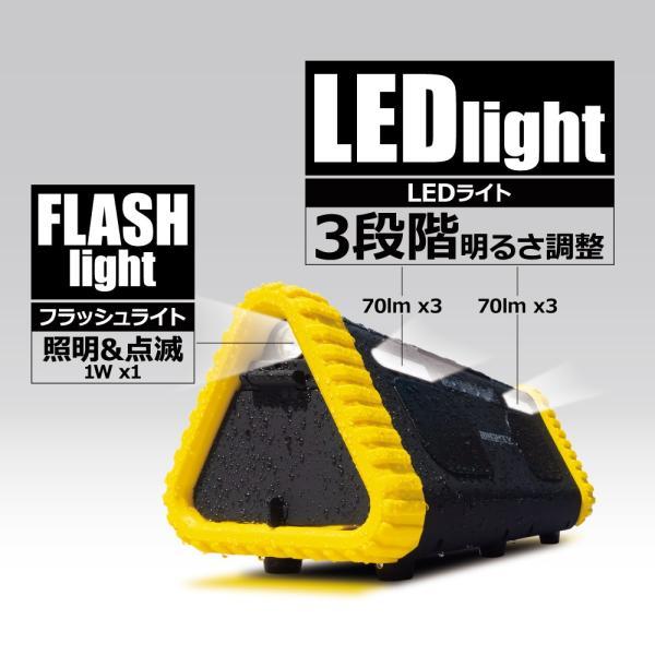 ポータブル電源 MIGHTY 大容量 車中泊 非常用電源 552Wh/153600mAh FMラジオ Bluetooth IP66 LEDライト 蓄電池 パナソニックリチウム電池|syride|10