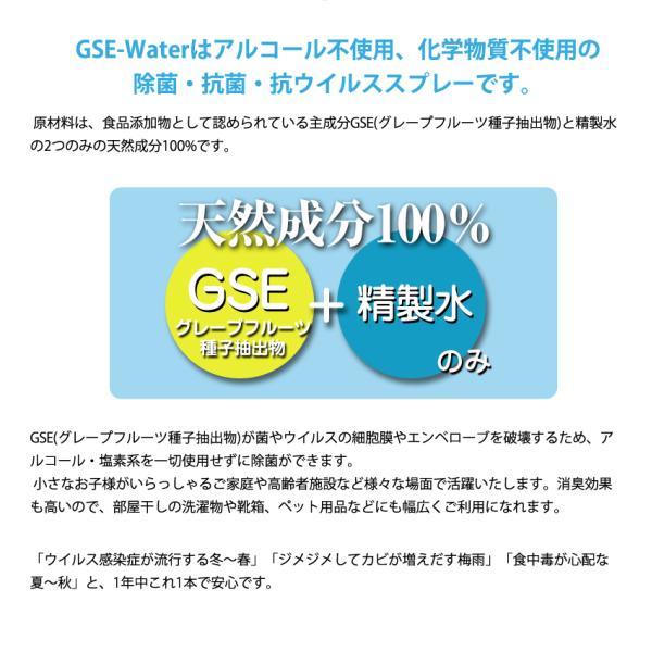除菌・抗菌・抗ウイルススプレー GSE-Water 500ml (GSE-250) アルコール・化学物質不使用|systemsacom|03