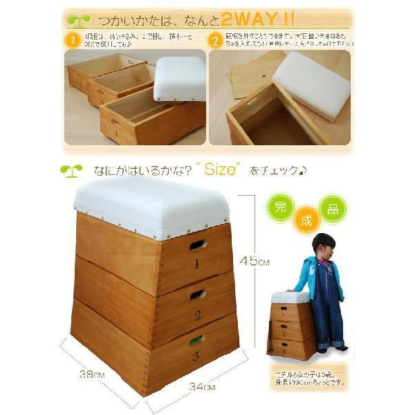 お子様用 跳び箱型収納|syufunomikata|05