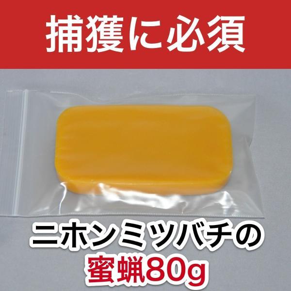 ニホンミツバチの蜜蝋 【80g】|syumatsu-yoho