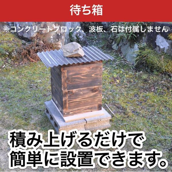待ち箱ルアーで始める!週末養蜂スタートキット|syumatsu-yoho|02