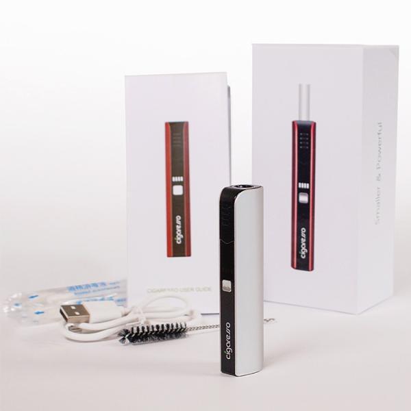 アイコス互換 cigaresso シガレッソ 日本語説明書付 650mAh[iQos 電子タバコ スターターキット アイコス 互換機 加熱式タバコ 電子たばこ]|syumicolle|02