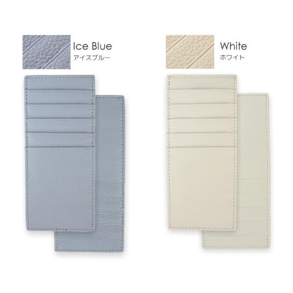 カードケース レディース 大容量 薄型 革 スキミング防止|syumicolle|15