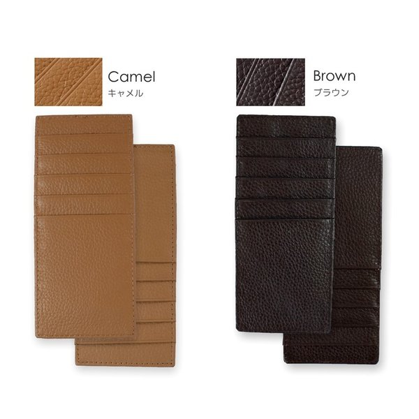 カードケース レディース 大容量 薄型 革 スキミング防止|syumicolle|17