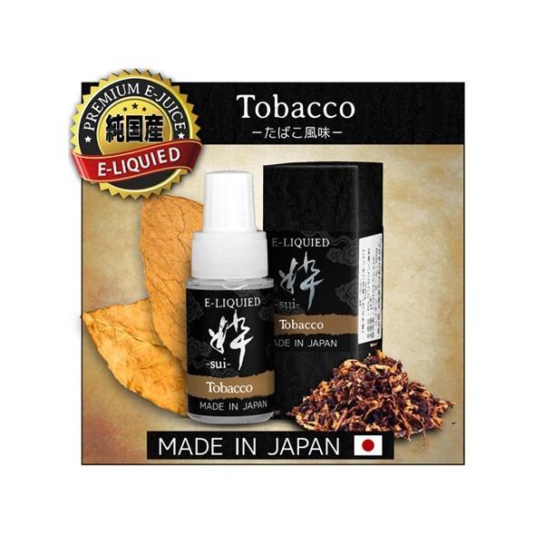 電子タバコ リキッド 粋-sui- タバコ味10ml 純国産|syumicolle
