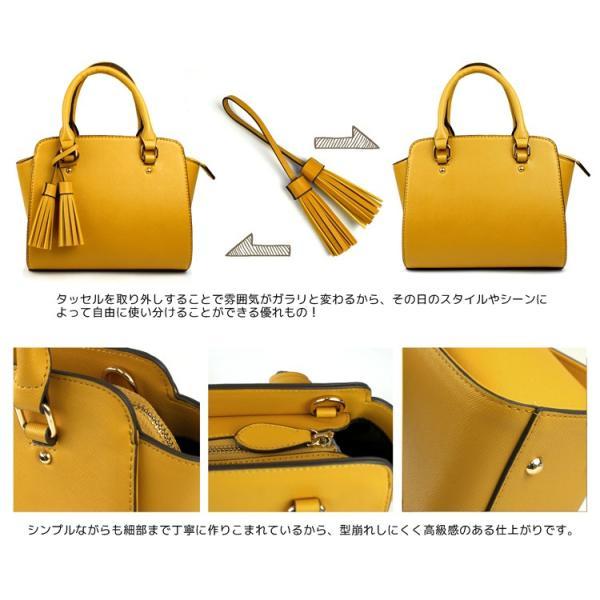 タッセル付きミニハンドバッグ 2way ショルダーバッグ オリジナル 工場直販価格 あすつく対応|syumicolle|16