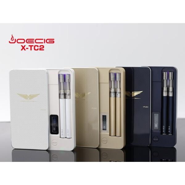 電子タバコ JOECIG純正 X-TC2本体2本+ニードルボトル+国産リキッドorリキッド10本 ジョイシグ 電子たばこ XTC2 X-TC-2 XTC-2 あすつく対応!|syumicolle|02