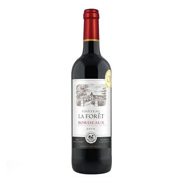 お歳暮 ギフト ワイン シャトー ラ・フォレ 750ml フランス ボルドー 赤ワイン