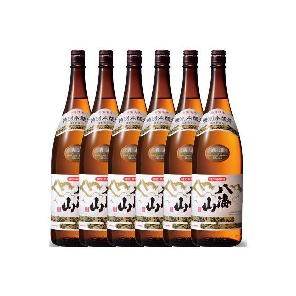 お中元 御中元 ギフト プレゼント 日本酒 八海山 特別本醸造 1800ml 6本セット 送料無料 新潟県 八海山 syurakushop