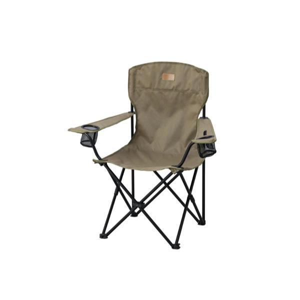 アウトドア チェア キャンプチェア ハイタイプミニ 子供用 カーキ HUGELヒューゲル CCM-HIGH | おしゃれ キャンプ 椅子 イス アイリスオーヤマ