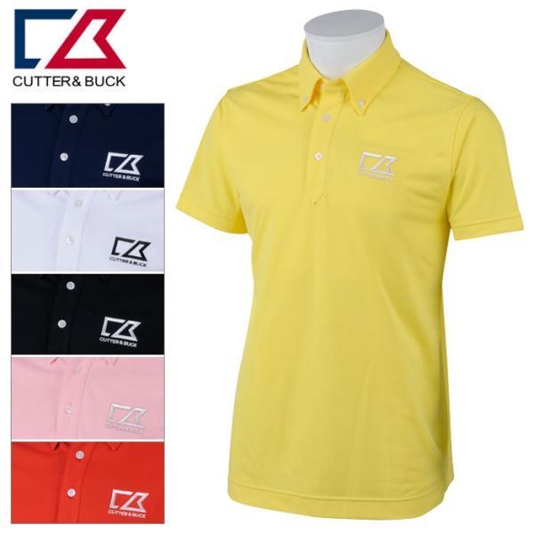 カッター&バック 半袖シャツ メンズ 春夏 ゴルフウェア CBT1503