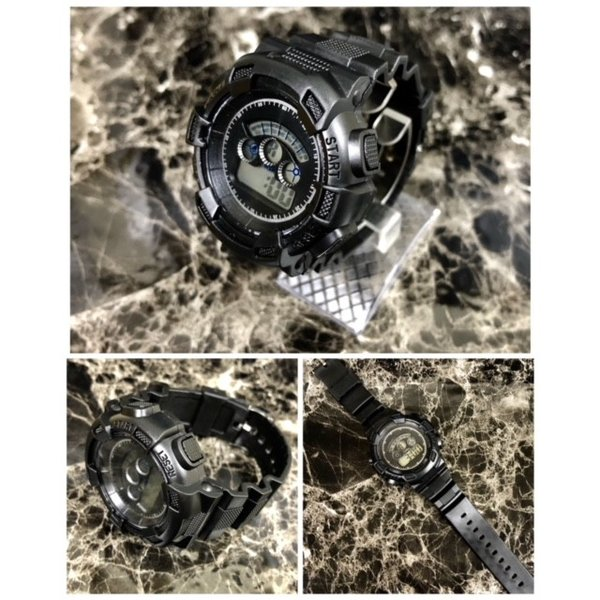 スポーツ腕時計 LEDライト デジタル 腕時計 ミリタリー 耐久性 スポーツ ランニング アウトドア 男女兼用 メンズ レディース カモフラージュ|t-a|07
