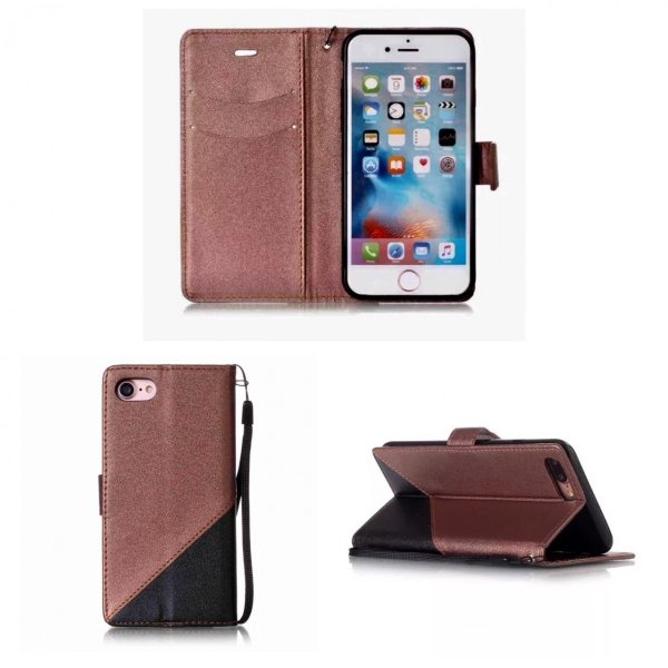 iPhone7 iPhone8 iPhone7 8 PLUS iPhone6 6s 手帳型ケース レザー ツートンカラー おしゃれ 液晶フィルム付き スマホカバー シンプル 5Color|t-a|11