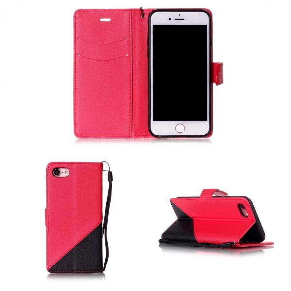 iPhone7 iPhone8 iPhone7 8 PLUS iPhone6 6s 手帳型ケース レザー ツートンカラー おしゃれ 液晶フィルム付き スマホカバー シンプル 5Color|t-a|07