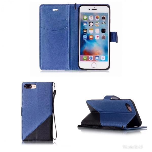iPhone7 iPhone8 iPhone7 8 PLUS iPhone6 6s 手帳型ケース レザー ツートンカラー おしゃれ 液晶フィルム付き スマホカバー シンプル 5Color|t-a|09