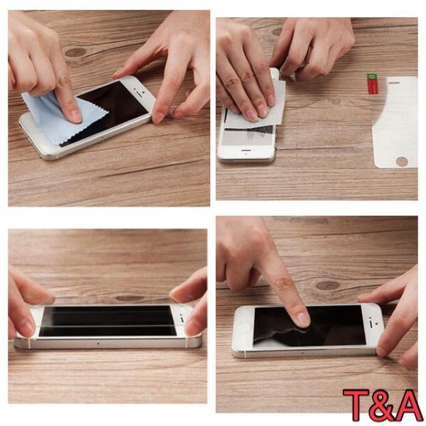 iPhone6 iPhone 6S iPhone 手帳型レザーケース+強化保護フィルム 茶色 2 収納 オシャレ スマホカバー 携帯ケース  ブラウン|t-a|05