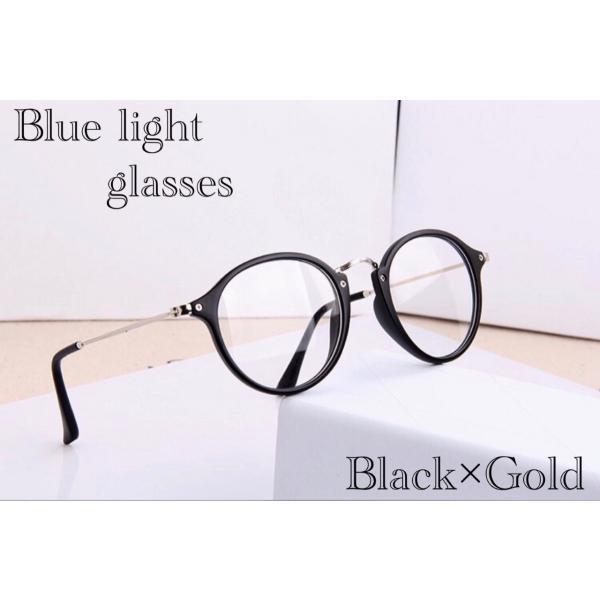 ボストン メガネ ブルーライトカット 伊達眼鏡 丸型 オシャレサングラス  PCメガネ UVカット ファッション眼鏡|t-a
