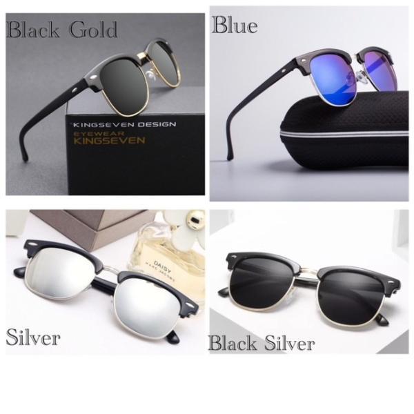 サングラス サーモント ミラー スモーク ブルーレンズ 伊達メガネ  UV400 紫外線カット 男女兼用 メンズ レディース 4Color|t-a
