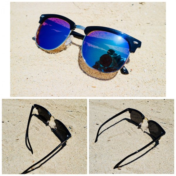 サングラス サーモント ミラー スモーク ブルーレンズ 伊達メガネ  UV400 紫外線カット 男女兼用 メンズ レディース 4Color|t-a|02