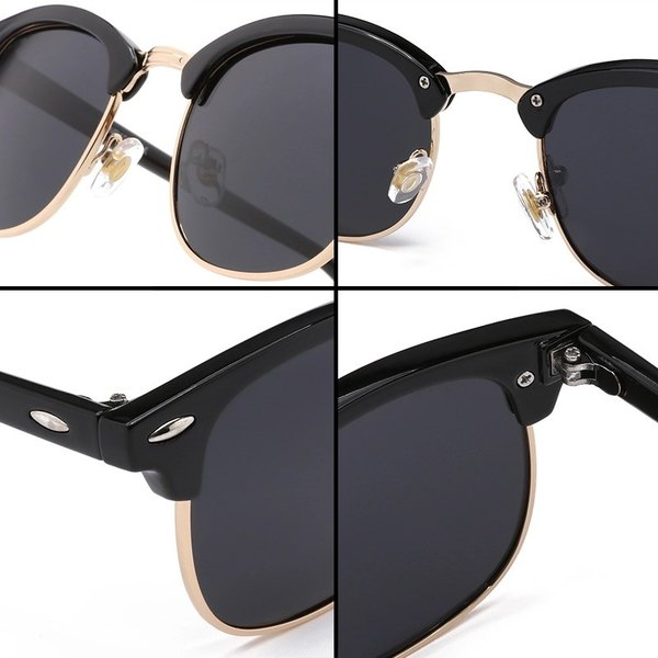 サングラス サーモント ミラー スモーク ブルーレンズ 伊達メガネ  UV400 紫外線カット 男女兼用 メンズ レディース 4Color|t-a|06
