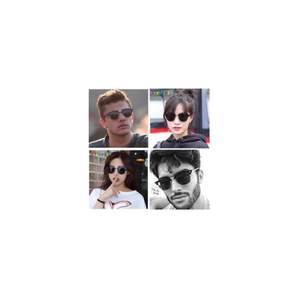 サングラス サーモント ミラー スモーク ブルーレンズ 伊達メガネ  UV400 紫外線カット 男女兼用 メンズ レディース 4Color|t-a|07
