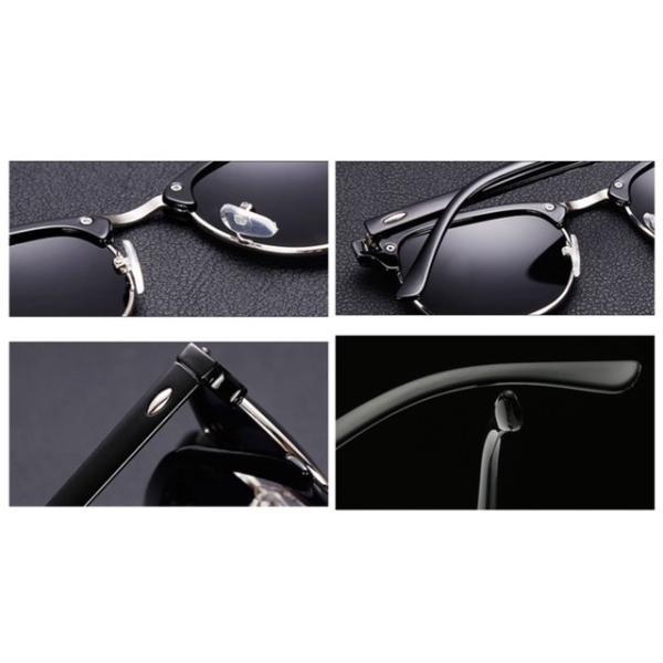 サングラス サーモント ミラー スモーク ブルーレンズ 伊達メガネ  UV400 紫外線カット 男女兼用 メンズ レディース 4Color|t-a|08