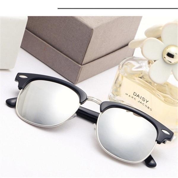 サングラス サーモント ミラー スモーク ブルーレンズ 伊達メガネ  UV400 紫外線カット 男女兼用 メンズ レディース 4Color|t-a|10