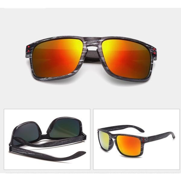 人気 ウェリントン型 ミラーサングラス ミラーレンズ オシャレフレーム  UV400 紫外線カット ブルー ゴールド 日焼け対策 メンズ レディース 3Color|t-a|04