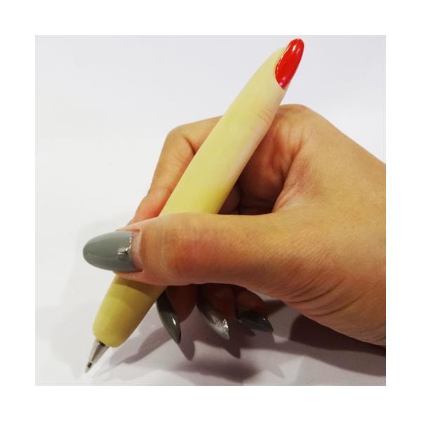 ファニーボールペン ■ おもしろ文房具 面白 ハサミ 指 カッター ギター アメリカン雑貨|t-bravo|02